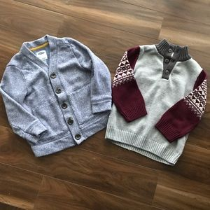 Boys bundle 2 tops size 4t